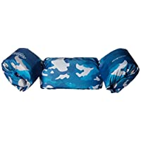Chaleco salvavidas de lujo para niños Stearns Puddle Jumper, camuflaje azul