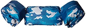 Stearns Puddle Jumper Deluxe Child Life Jacket, Blue Camo