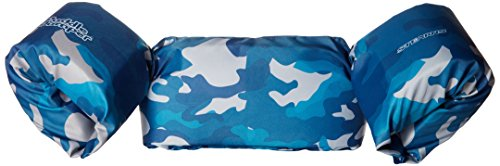 Stearns Puddle Jumper Deluxe Child Life Jacket, Blue Camo (Vest Boys Swim)