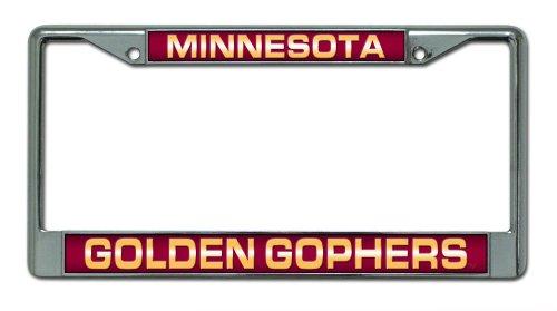 Minnesota Golden Gophers Metal (NCAA Minnesota Golden Gophers Laser Cut Chrome Plate Frame)