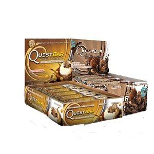 Quête Bundle: 12 comptent double aux morceaux de chocolat, 12 comte Chocolate Peanut Butter