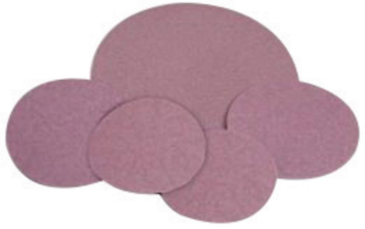 Standard Abrasives 5'' 120 Grit Aluminum Oxide Resin Bond PSA Disc - 500 Each/Case