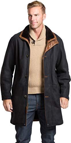- McKinley Black Shearling Sheepskin Coat