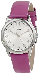 Timex Women's T2P1182M Purple Patent Leather Strap Watch
