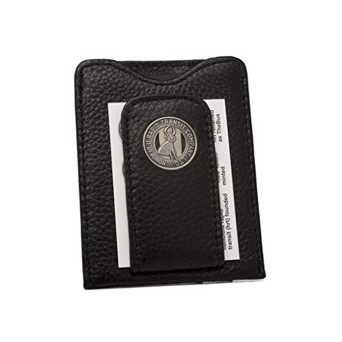 Tokens & Icons Honolulu Transit Token Leather Money Clip Wallet (Tokens And Icons Wallet)