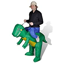 Inflatable Halloween Party Suit Adults Inflatable Riding Gorilla Costume by V.POINT