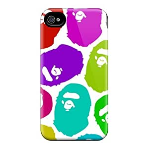 Perfect Hard Cell-phone Cases For Iphone 6 (aUG18016IOqe) Custom Attractive Bape Pictures
