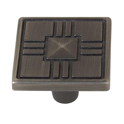 (GlideRite Hardware 82929-P-1 Type Hooks Craftsman Collection Cabinet Knob, 1.25