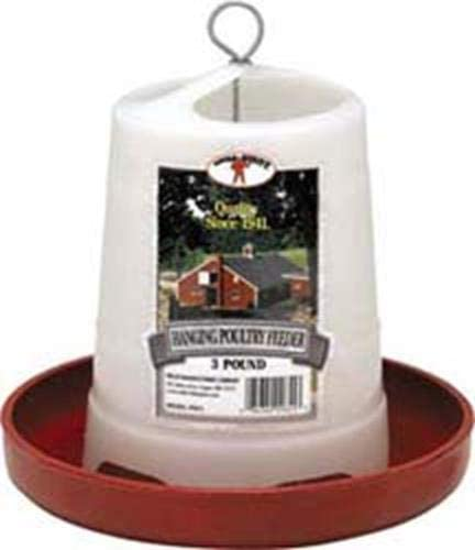 Little Giant Hanging Poultry Feeder 3lb