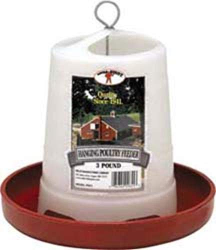 Hanging Poultry Feeder - Little Giant Hanging Poultry Feeder 3lb