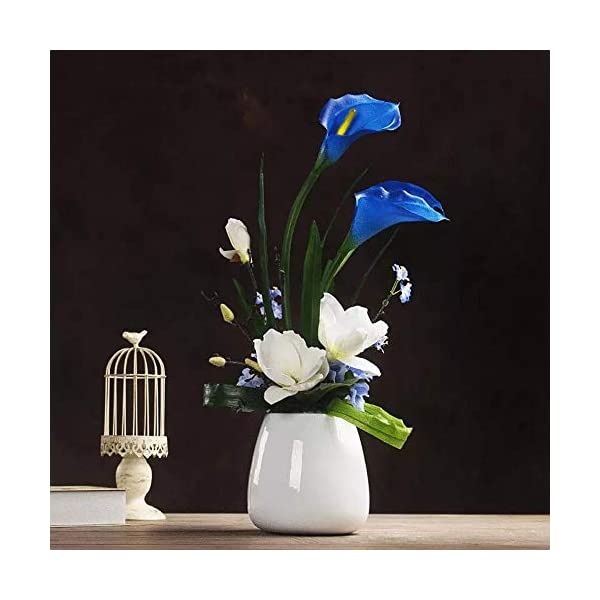 JUSTOYOU-Artificial-Calla-Lily-Real-Touch-Latex-Flower-Blossom-Bridal-Wedding-Bouquet-Home-DecorationPack-20pcs