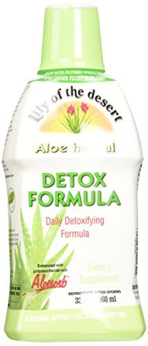Lily of The Desert Aloe Herbal Detoxifying Formula, 32 Fluid Ounce