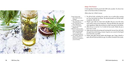 416pvlwA2BL - CBD Every Day: How to Make Cannabis-Infused Massage Oils, Bath Bombs, Salves, Herbal Remedies, and Edibles