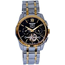 Zorex Men's Automatic Mechanical Watch Sapphire-glass stainless steel Water