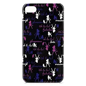 Fashion Girl Protective Case for iPhone 4 and 4S
