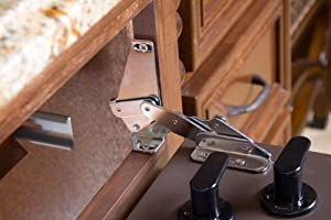 Amazon Com Tip Out Sink Front 90 Degree Pivot Hinge Home