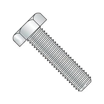 Fully Threaded Hot Dipped Galvanized Steel Coarse Thread Quantity: 25 5//8-11 x 2 5//8 x 2 Hex Machine Bolt A307 Grade A Steel