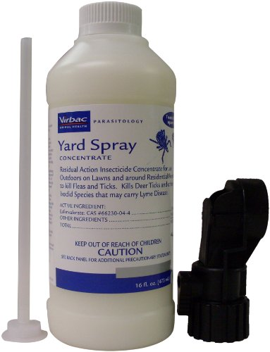 Virbac Concentrate Yard Spray for Fleas and Ticks, My Pet Supplies