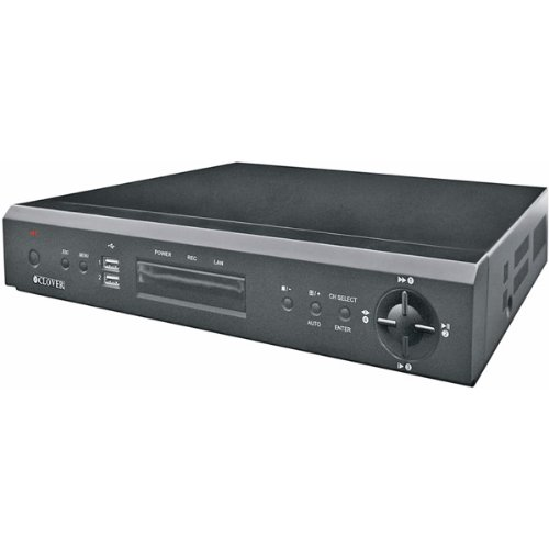 16 Channel Pentaplex Dvr - New-16-Channel Pentaplex Digital Video Recorder with 750GB HDD - DE6211