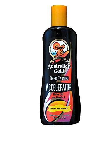 Australian Gold DARK TANNING ACCELERATOR Lotion 8.5 oz (Dream Tan Formula)