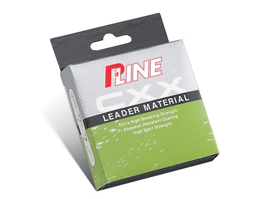 P-Line CXX-Xtra Strong Leader Material Coil (25 Meter/27-Yard, 25-Pound, Moss Green) - Fluorocarbon Leader Coil