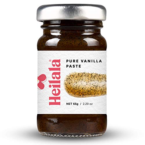 Vanilla Bean Paste for Baking - Heilala Vanilla Paste, Multi-Award Winning, Ethically Sourced Bourbon Variety Vanilla Pods, Hand-Picked from Polynesia, the Choice of Chefs and Bakers, 2.29 oz