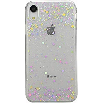 Amazon.com: iPhone XR Case,iPhone XR Glitter Case for