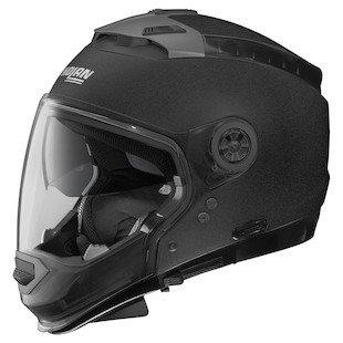 Nolan Unisex Adult N44 EVO Black Graphite Modular Helmet - Helmet Motorcycle Nolan Modular