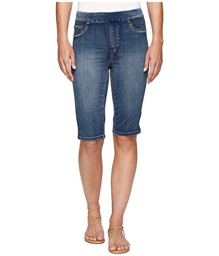 リビジョントイレ狂乱[トライバル] Tribal レディース Pull-On 13 Bermuda Dream Jeans in Retro Blue パンツ Retro Blue 0 [並行輸入品]