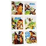 Ice Age Stickers 4 Sheets