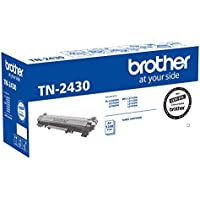 Brother Genuine TN2430 Printer Toner Cartridge, Black, Page Yield Up to 1200 Pages, (TN-2430), Standard-Yield
