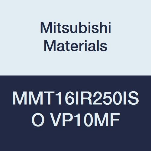 Right 2.5 mm Pitch Pack of 5 Mitsubishi Materials MMT16IR250ISO VP10MF Coated Carbide G-Class Internal Ground Threading Insert Grade VP10MF 9.525 mm IC ISO Metric Type