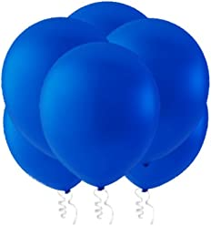 """Creative Balloons 12"""" Latex Balloons - Pack of 144 Piece - Decorator Royal Blue"""