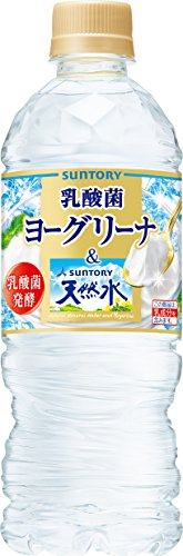 Suntory Southern Alps of natural water & Yogurina pet 540ml1 boxes 24 by Suntory Ltd.