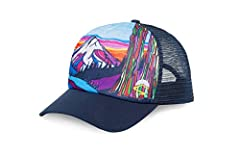 Take the Northwest with you anywhere you go with our Northwest Trucker. The scenes were created in the Northwest, by a Northwest artist, and are actual Northwest locations. Wear it proud and you'll probably pick up a compliment or two.