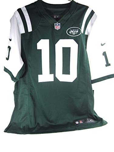 York Jets New Jersey (Nike NFL New York Jets Mens Santonio Holmes ON Field Game Day Jersey,Large)