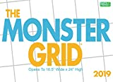 Monster Grid 2019 Wall Calendar