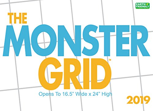 Monster Grid 2019 Wall Calendar -