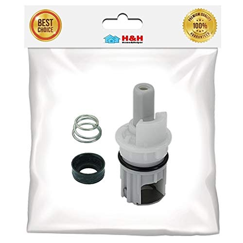 (H&H) New 2 pc Replacement Stem Kit for Delta Faucet RP-1740 Two Handle Faucet Repair (1 set) by H&H