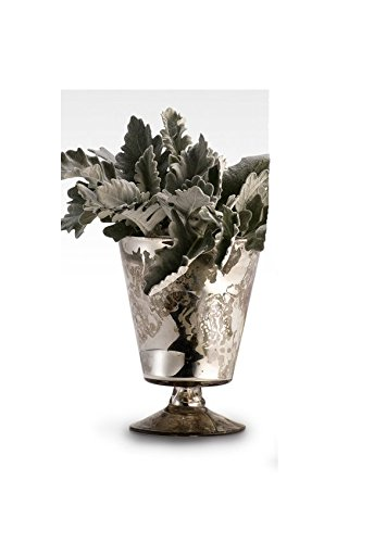 Amazon.com: Serene espacios Living plata antigua Pedestal ...