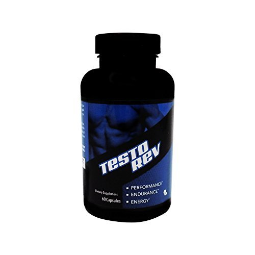Testo Rev- All Natural Testosterone Booster to Increase Energy and Lean Muscle Mass