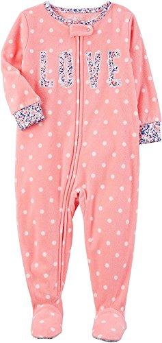 Sleeper Pajamas (LOVE, 6 Months) (Baby Jammies)