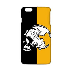 Wish-Store skulls Metal Gear Solid logos (3D)Phone Case for iPhone 6plus