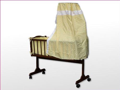 Babywiege stubenwagen schukelwiege wiege inkl rollen und zubehör
