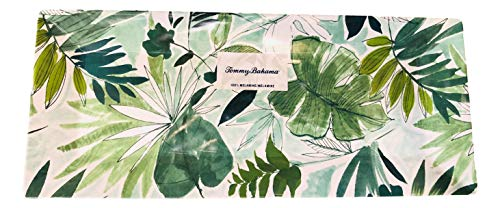 - Tommy Bahama Tropical Leaves Melamine Serving Tray