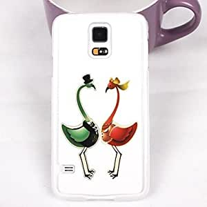 JJE The Beautiful Bird Lovers Plastic Hard Back Cover for Samsung Galaxy Note 4