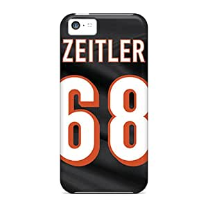 New Shockproof Protection Case Cover For Iphone 5c/ Cincinnati Bengals Case Cover