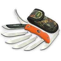 Outdoor Edge RAZOR-PRO (Orange-6 Blades) - Box
