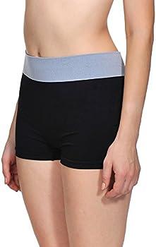 Sassalilly Womens Seamless Boyshort Panties Nylon Spandex Underwear Stretch Boxer Briefs 3 Pack