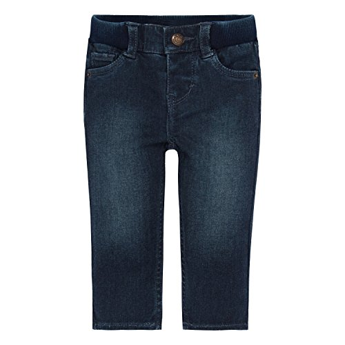 Levi's Baby Girls' Skinny Fit Jeans, Tailored Indigo, 18M